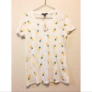 Forever 21 Pineapple T-Shirt
